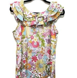 Libert of london for Target floral blouse M